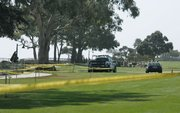Santa Barbara police search Shoreline Park for evidence in the suspicious death of Christopher Marks (September 27, 2012)