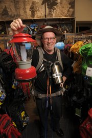 It's an adventure just shopping at REI, says author D.J. Palladino.