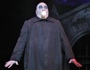 Blake Hammond as Uncle Fester in <i>The Addams Family</i>.
