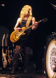 Frontwoman Erika Wennerstrom