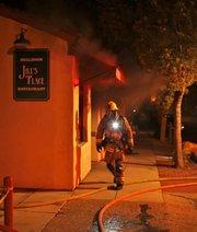 City firefighters respond to Jill's place blaze