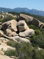 <b>COME OUT AND PLAY:</b>  Since the 1950s, rock climbers of all ilk have been getting their kicks at Santa Barbara hot spots like the Brickyard off West Camino Cielo.