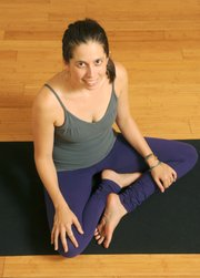 Jenni Rawlings at Yoga Soup (July 11, 2013)