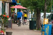 By contrast, Pittsburgh's Braddock Avenue welcomes bikers and walkers.