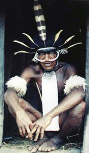 Lani tribesman