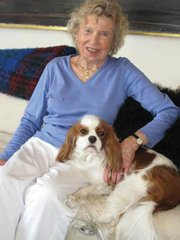 <b>A LOVE OF POLITICS:</b>  Mercedes Eichholz, philanthropist and art collector, moved with the rich and powerful in D.C. and Santa Barbara.