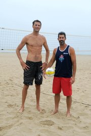 <b>SAND, SURF, AND SPIKES:</b>  S.B. native Todd Rogers hits the courts with his new partner, Ryan Doherty. Rogers won a slew of tournaments, including the 2008 Olympics, with his former partner Phil Dalhausser, who will compete against Rogers this weekend.