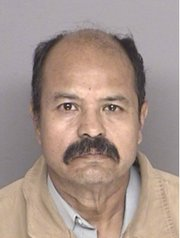 Jose Carrillo booking photo from October 2012 arrest