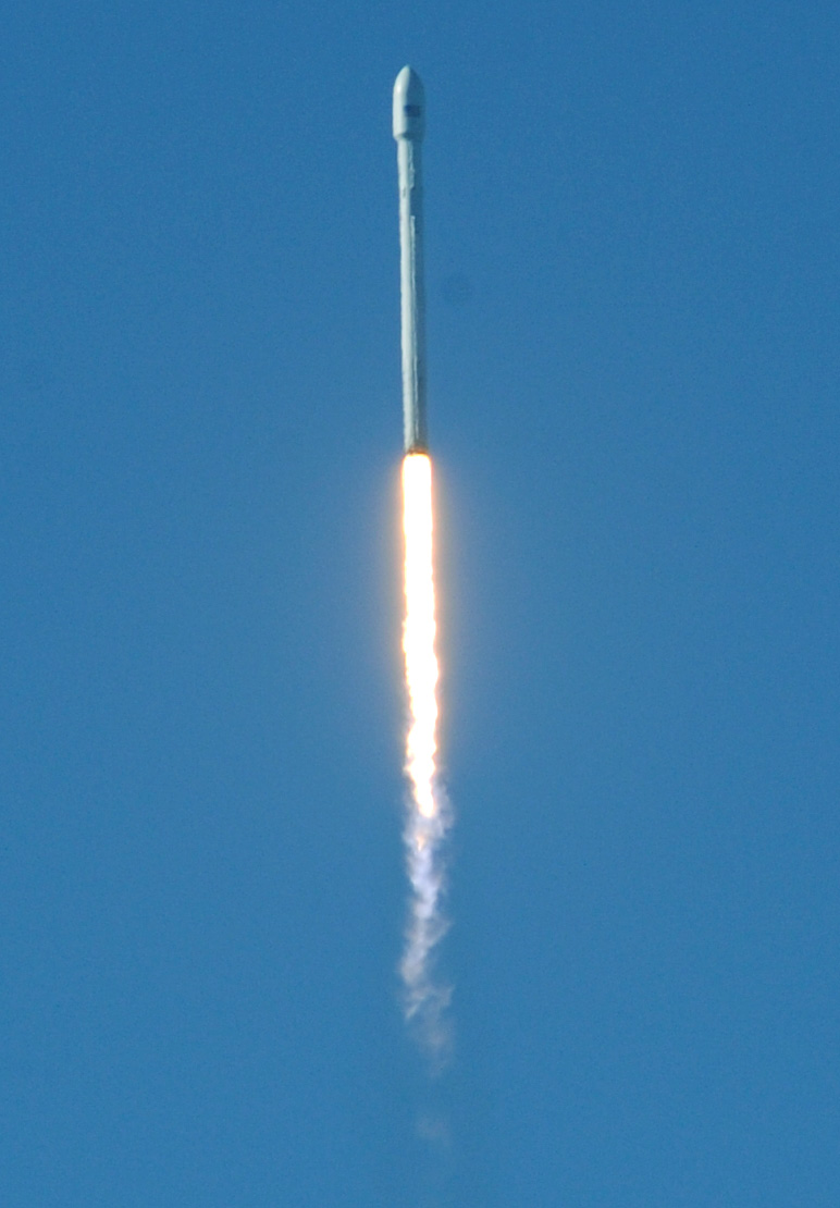 SpaceX Launches First Rocket from Vandenberg