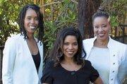 left to right: Ingrid Banks, Gaye Theresa Johnson, Kim Bluitt