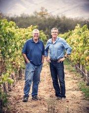 Bob Lindquist (left) and Charles Banks
