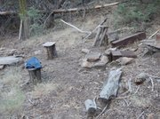 The rugged McGuire Camp at 6,000 feet elevation.