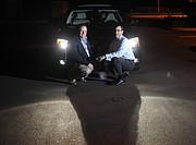 Autoliv's Stuart Klapper (left) and Richard Seoane