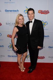 Ivana Bozilovic (Andrew's Wife) and Andrew Firestone (Event Live Auctioneer)