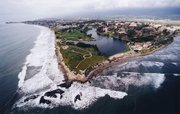 """<b>A GRAND VIEW:</b>  Many high school seniors set their sights on attending area colleges such as UCSB (pictured). However, it's good to apply to many institutions. """"People get hung up on the one perfect school for them,"""" said UCSB admission director Lisa Przekop. """"But in reality, there are all kinds of colleges in the U.S., and there are many that could work."""