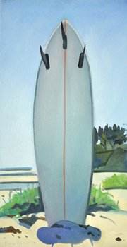 """Tri Fin at Augustine"" by Hank Pitcher."