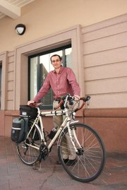 Paolo Gardinali has pedaled his way to work at UCSB for over a decade.