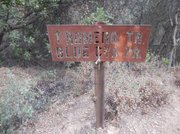 Blue Canyon Trail sign