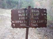 Forbush Trail sign