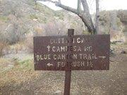 Cottam Camp sign