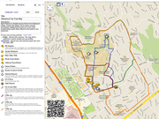 Google Map of the Westwood area provides an overview of where to go and what to see. Use the QR code on the map to download it onto your phone.