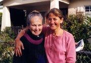 Ann Johnson and her daughter, Jenda