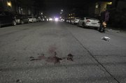 Aftermath from one of the shootings on the 6500 block of Sabado Tarde Road