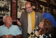 Roger Aceves with supporters on election night  (June 3, 2014)