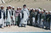 James Rolfe with orphans in Wardak