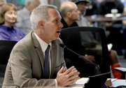 Dennis Bozanich, assistant to the county CEO, made a presentation to the board on the measure's possible repercussions.
