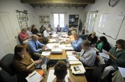 A crowded Montecito Water District Board room (June 17, 2014)