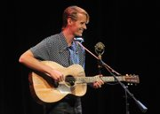 Tom Brosseau opened for the Milk Carton Kids at the Lobero Theatre (June 19, 2014)