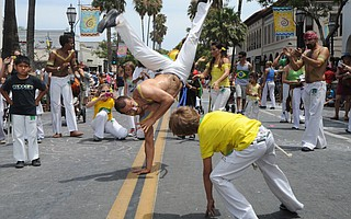 Santa Barbara Solstice Parade (June 21, 2014)
