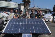 Solar Team Eindhoven shows off their four-seat ride