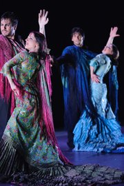 <b>DRESSED FOR SUCCESS:</b> Costume designer Yaiza Pinillos is the masterful mind behind the outfits of Nomáda. Her flowing creations, like the show itself, draw inspiration from the multitude of cultures in which flamenco thrives.
