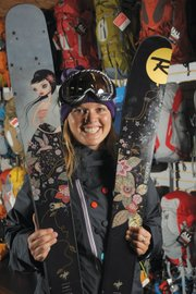 Corilynn Duddridge is part of the family-owned Mountain Air Sports.