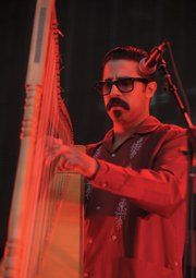 <b>MAGIC AND MAYHEM ABOUND: </b> From celebrated harpist Xoco Moraza and his band Hy Brasil to surprise dance performances and wandering mariachi bands and a Glen full of carefully curated oferendas, the Bowl's Día de los Muertos event promises to deliver art of all kinds for people of all ages while properly celebrating those who have left us too soon.