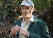 Forest Service biologist Kevin Cooper talks about the impacts of cannabis fields on the environment