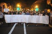 Santa Barbarans march for Eric Garner and against police brutality