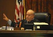 Judge Frank Ochoa delivers the sentence