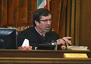 Judge Hill admonishes Brannon Pitcher.