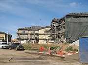 Some of Westar's 266 units being built at Hollister and Storke.