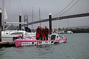 The team launched from San Francisco on April 20.