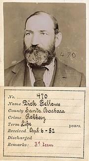 Dick Fellows had a checkered career as a bandit throughout California.