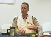State Park Superintendent Eric Hjelstrom