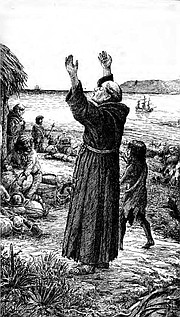 "<b>BIG HURRY: </b> When Junípero Serra showed up in California, he was a middle-aged man in a very big hurry. He'd rather get stuff done than get along. In his first eight years, he established no fewer than eight missions. ""I think if you saw him coming down the street, you'd run for the hills,"" said Robert Senkewicz."
