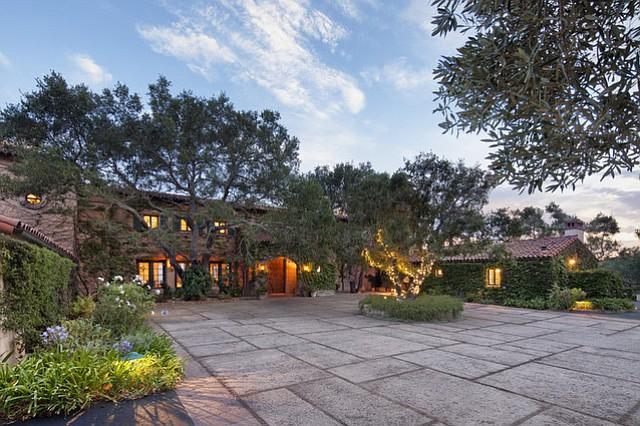 The Bridges' Montecito estate.