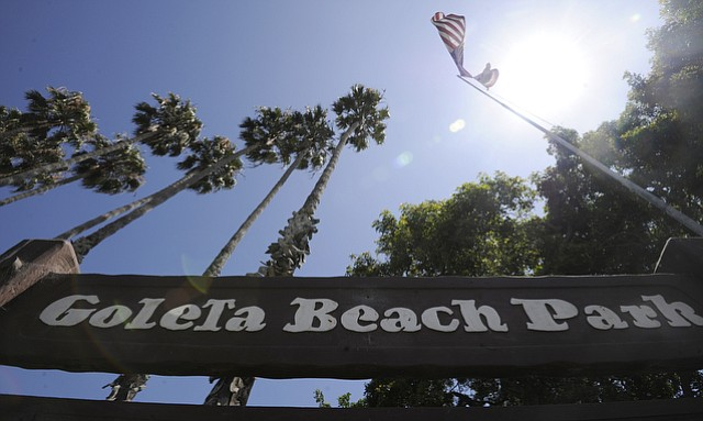 Goleta Beach Park. (July 29, 2015)