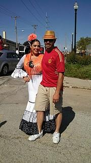 Patricia Velazquez and Ruben Dunn