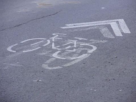 Will the sharrow define bike paths in S.B. instead of protected bikeways?